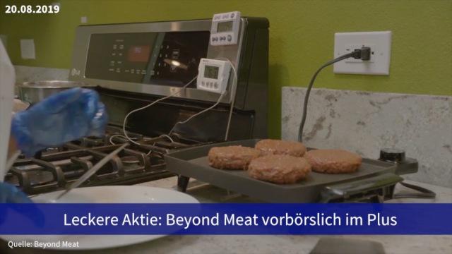 Aktie im Fokus: Beyond Meat vorbörslich im Plus