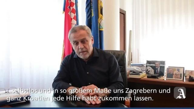 Mainz: Videogruß aus Zagreb