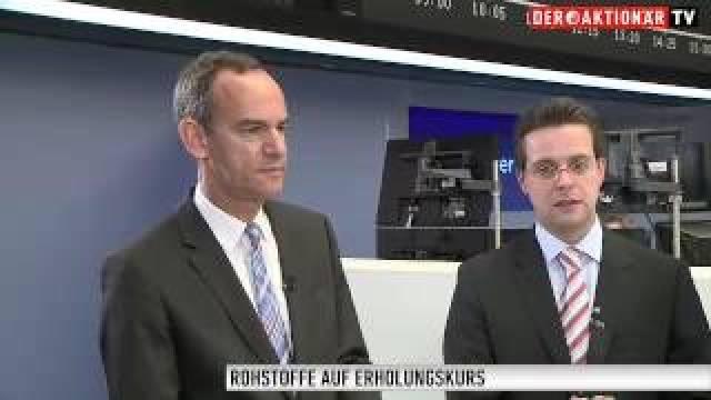"""Rohstoffe: """"Erholungskurs läuft weiter"""""""