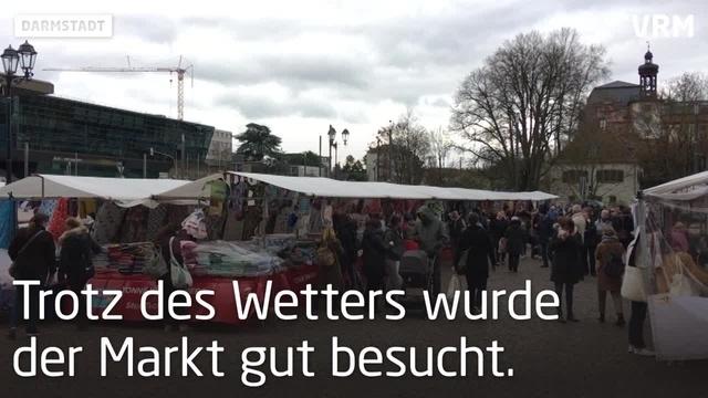 Stoffmarkt in Darmstadt