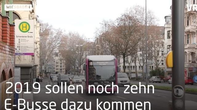 In Wiesbaden fahren die ersten Elekto-Busse