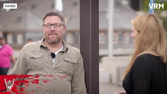 Wortpiratin rot-weiß trifft Thomas Zeitz