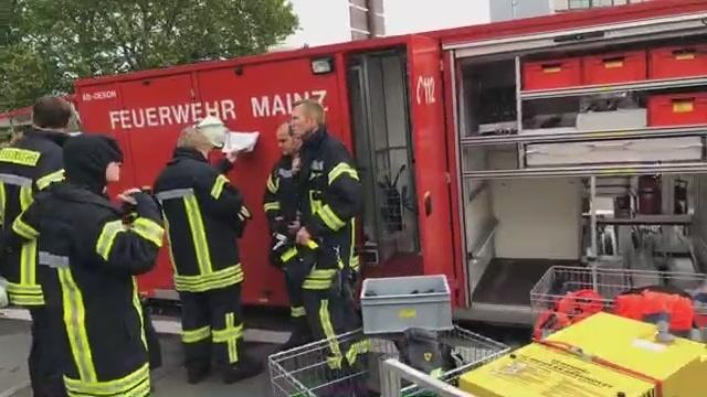 Brand der Mainzer Rheingoldhalle: Update 9:54 Uhr