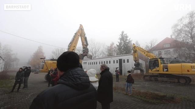 Darmstadt: Abrissarbeiten im Ludwigshöhviertel