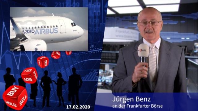 Analyser to go: Airbus weiter zum Kauf empfohlen