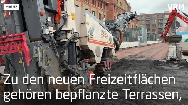 Mainzer Zollhafen bekommt ein neues Gesicht