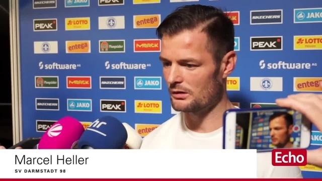 SV Darmstadt 98: Marcel Heller über das Spiel gegen Wolfsburg