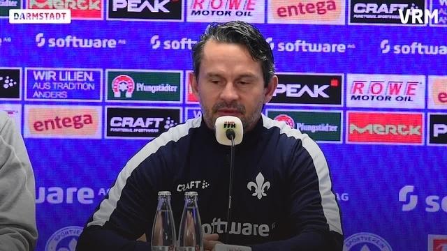 Lilien gegen Heidenheim - Pressekonferenz vor dem Spiel