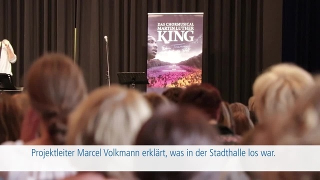 Chormusical Martin Luther King mit lokalen Chören