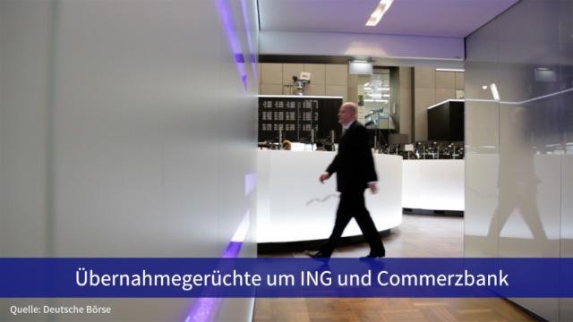 Aktie im Fokus: Übernahmegerüchte um ING und Commerzbank