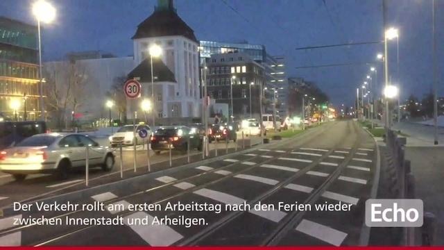 Frankfurter Straße neu gestaltet