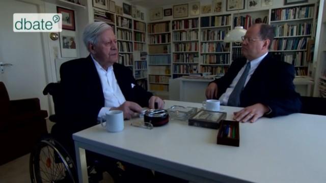 Gespräch mit Helmut Schmidt