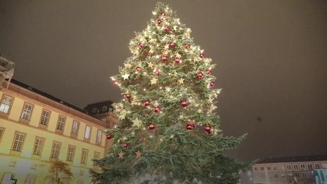 Der Weihnachtsmarkt in Darmstadt ist eröffnet