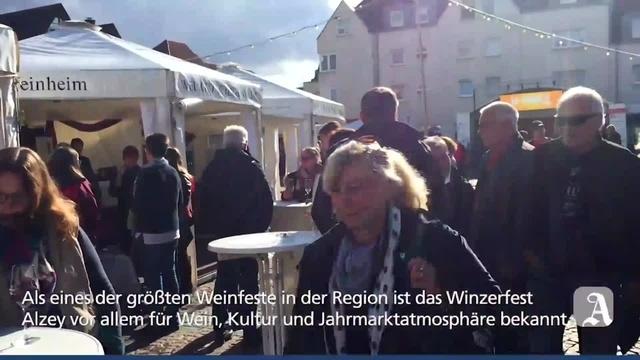 Winzerfest in Alzey