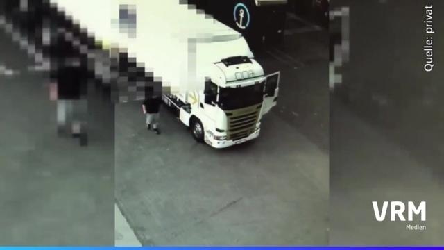 Unfall in Mainz-Hechtsheim: Video belastet Lkw-Fahrer