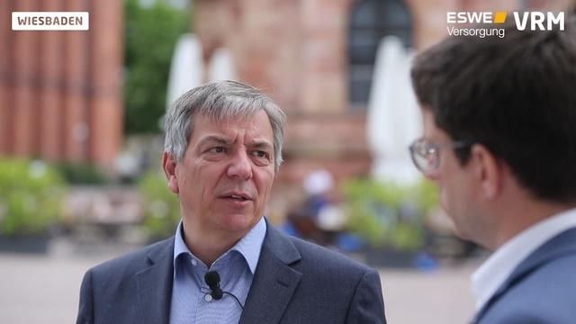 OB-Wahl in Wiesbaden: SPD-Kandidat Gert-Uwe Mende