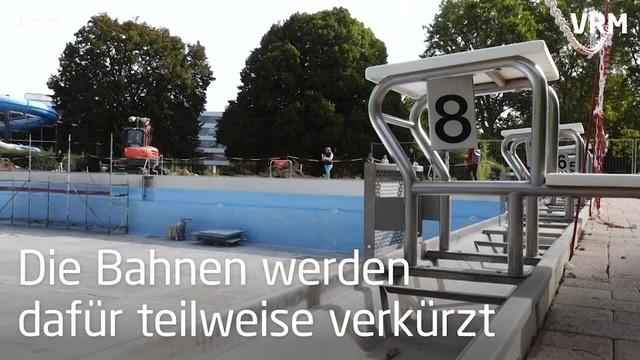 Taubertsbergbad: Freibad wird umgebaut