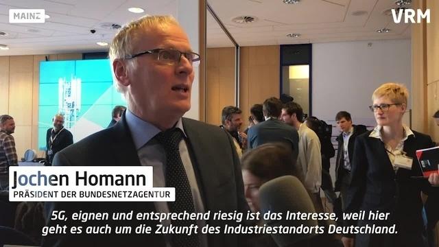 Mainz: 5G-Mobilfunkauktion gestartet