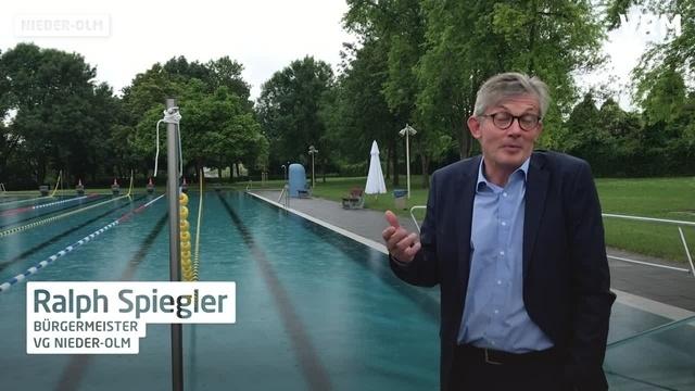 Das Rheinhessenbad in Nieder-Olm öffnet wieder