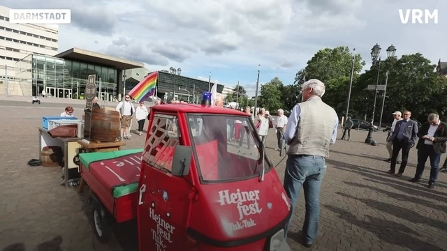 Auftakt des Heinerfests in Darmstadt