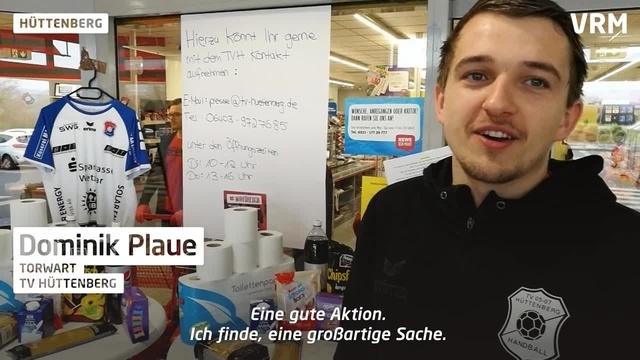 TV Hüttenberg bietet Lieferservice an