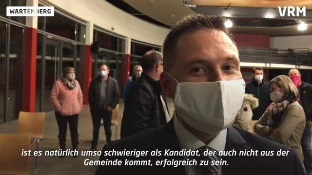Deutlicher Wahlsieg für Amtsinhaber Dahlmann in Wartenberg