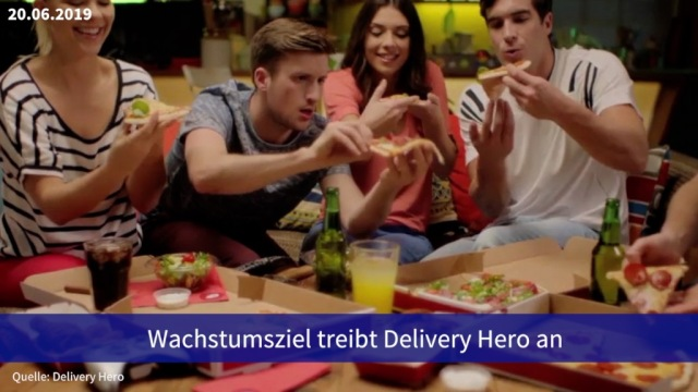 Aktie im Fokus: Wachstumsziel treibt Delivery Hero an