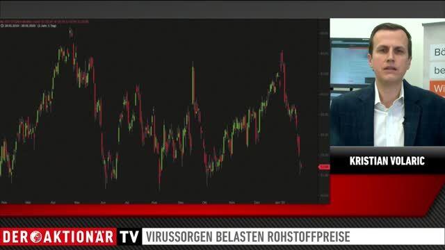 flatExperte Volaric: Virussorgen belasten auch die Rohölpreise