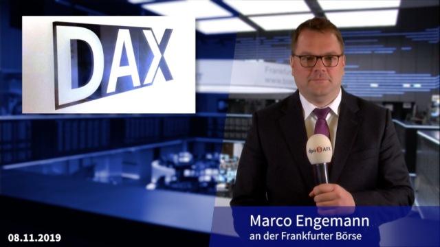 Dax knapp im Minus - Allianz belastet