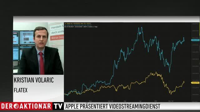 """flatExperte Volaric: """"Apples Streamingdienst stellt (noch) keine Gefahr für Netflix dar"""""""