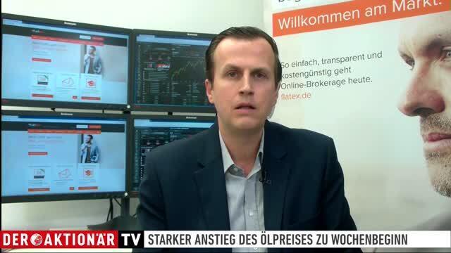 flatExperte Volaric: Ölpreis-Anstieg schockt DAX-Anleger nicht