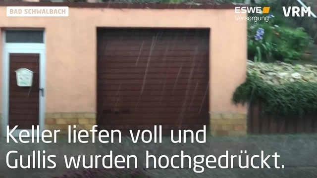 Unwetter in Bad Schwalbach