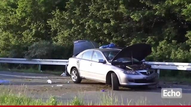 Zwingenberg: Unfall auf der A5
