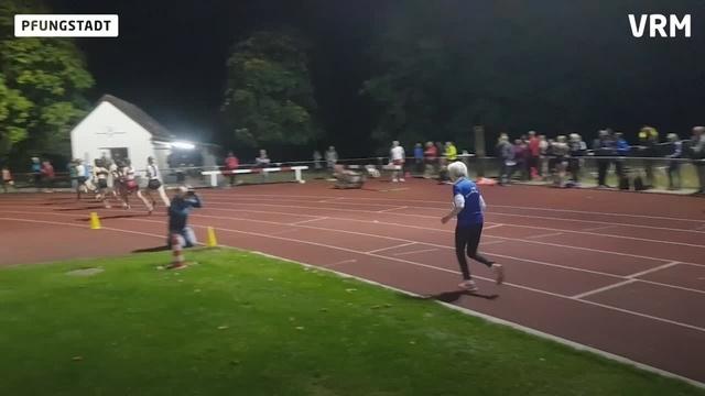 90-Jährige läuft Weltrekord in Pfungstadt