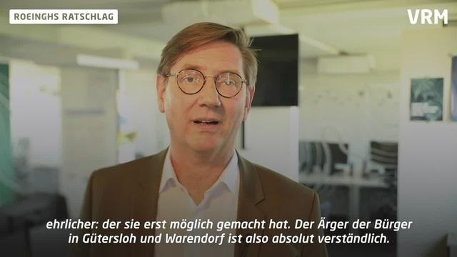 Roeinghs Ratschlag: Reisebeschränkungen nach Tönnies-Skandal