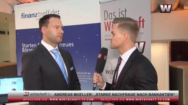 Interview mit Andreas Mueller von finanztreff.de auf dem Berliner Börsentag 2016