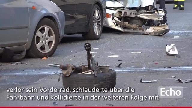 Verkehrsunfall in Griesheim