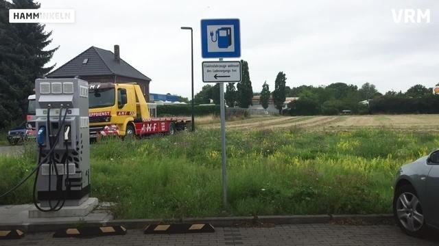 Der Kia e-Niro im Test: 3 - Aufladen in Hamminkeln