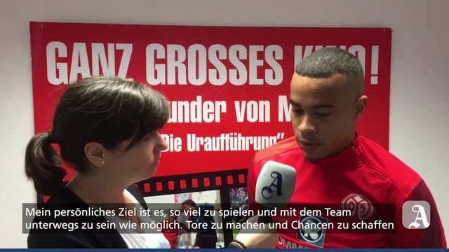 Mainz 05: Robin Quaison im Interview
