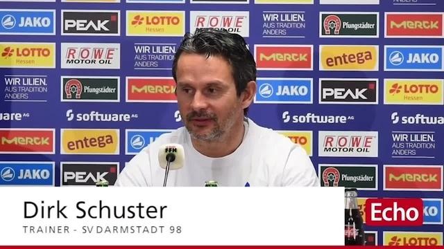 Vor dem Spiel SV Darmstadt 98 gegen FC Ingolstadt