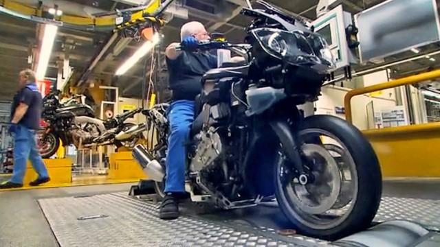 Wie entsteht ein Motorrad?