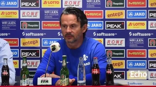 Lilien-Trainer Schuster zum anstehenden Spiel gegen Regensburg