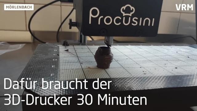 Mörlenbacher Bäcker fertigt Bembelpralinen