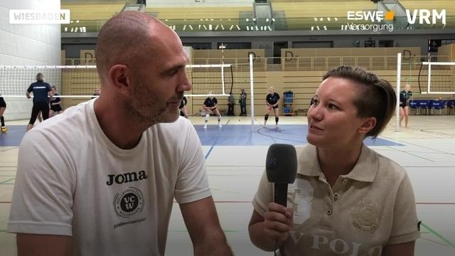 VCW-Cheftrainer Sossenheimer zum Trainingsauftakt