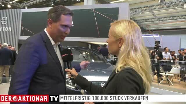Spezial IAA: Und wieder ein Tesla-Herausforderer: Byton bringt den M-Byte
