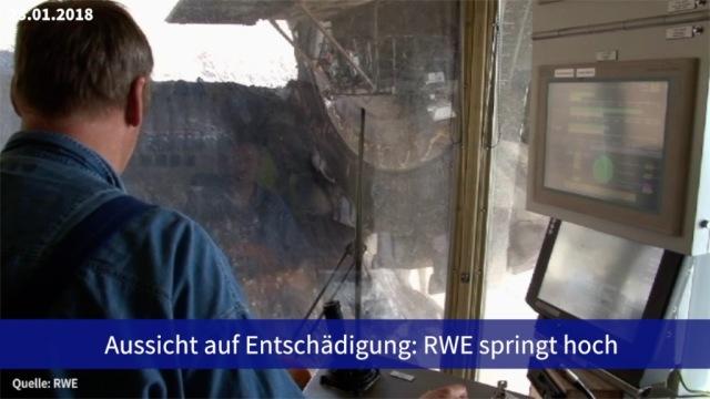 Aktie im Fokus: RWE könnte Entschädigungen bekommen - Aktie steigt
