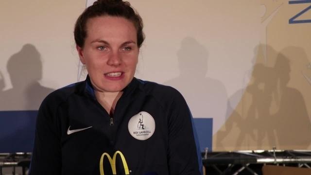 Annabel Breuer zu ihrem Titel Sportlerin des Jahres
