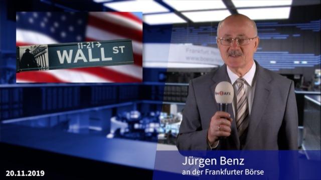 Wall Street bricht Rekordjagd ab - Dax schwächer erwartet