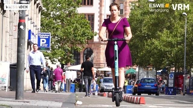 Wiesbaden: So funktioniert das E-Scooter-Ausleihen