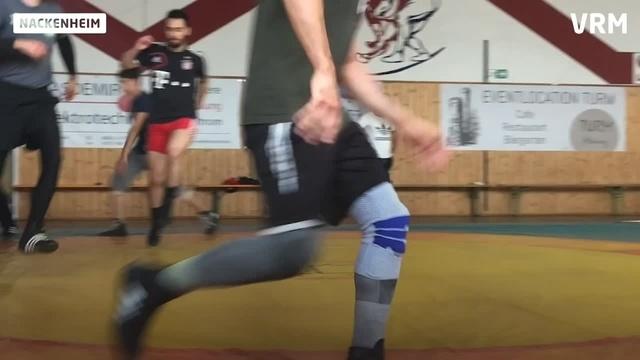 Nach Verletzung: Nackenheimer Ringer bei European Games